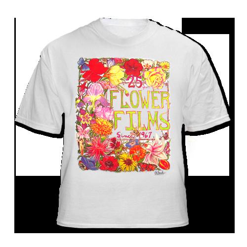 flower_films_T_Shirt_by_Les_Blank_Flower_Films